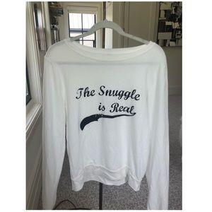 The Snuggle is Real Sweatshirt *wildfox lookalike